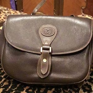 Vintage Brown Gucci Bag
